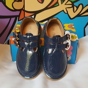 COCO Jumbo Villager Mary Jane Oxfords Blue Size 6